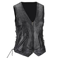 product review viking cycle haughty leather vest