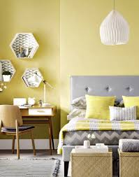 gray and yellow and teal bedroom dark brown mattress cover grey wall paint color metal floor