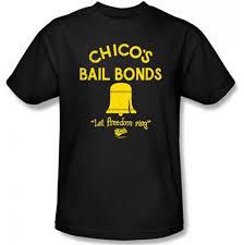 Bad News Bears Chicos Bail Bonds Black Mens T Shirt In 2019