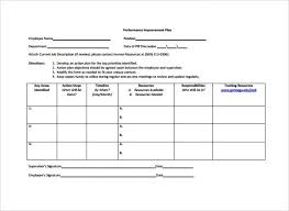 Employee Action Plan Template - Kleo.beachfix.co