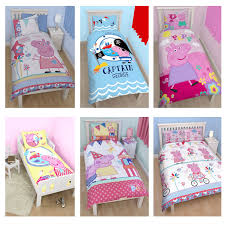 peppa pig george pig duvet quilt covers toddler single double sizes