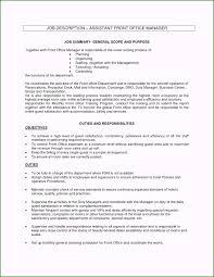 Hotel Front Desk Job Description Resume Outstanding Duties A