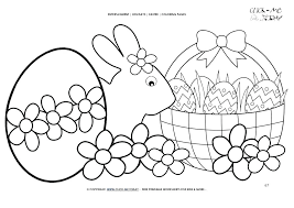 Coloring Pages For Easter Coloring Sheets Printable The Most