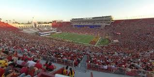 La Coliseum Seating Chart Soccer Los Angeles Memorial Coliseum Section 319 Rateyourseats Com