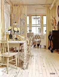 full image for tribeca loft of liz dougherty pierce shabby chic apartment painted white wood floorslandlord
