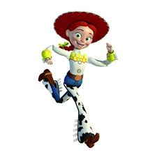Girl in toy story