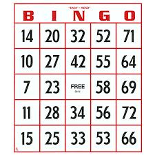 15 121 Bingo