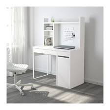 White work desk Ikea Micke Micke Computer Work Station White Ikea Micke Computer Work Station White Ikea