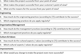 Interview Questions About Success Interview Questions Success Download Table