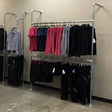 Wardrobe Simplified Building Wall Mounted Clothes Rail Simplified Building