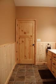 beautiful knotty pine interior doors interior doors knotty pine craftsman style bathroom door bayer