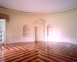 oval office floor. Same Chairs, Now In Stripes. Lincoln On The Wall. Busts Are Of Lincoln, Churchill And Eisenhower. My Favorite Oval Office Decor, I Think!! Love This!!! Floor L