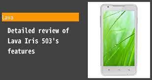 Lava Iris 503 Review