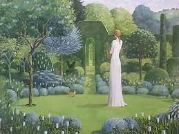Alan Parry, The White Room, Acrylic on Board, signed, 61 x 61 cm | Catto  Gallery