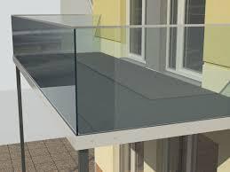 balcony and railing 3d model obj 3ds lwo lw lws stl 3dm skp 2