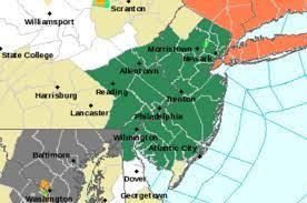 N.J. weather: Flash flood watch issued ...