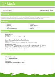 Best Resume Format 2016 Resume Example