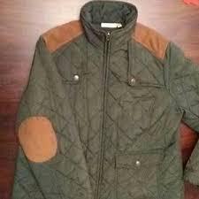 croft & barrow - Croft and Barrow quilted jacket with elbow ... & croft & barrow Jackets & Coats - Croft and Barrow quilted jacket with elbow  patches Adamdwight.com