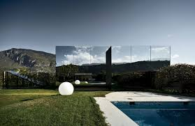 architecture houses glass. The New Houses Back Up Against A Swimming Pool Shared With Preexisting Main House. Architecture Glass