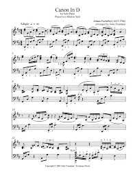 The key of c major is only one whole step lower than the. Pachelbel S Canon In D In 2020 Pachelbel S Canon Digital Sheet Music Sheet Music Cute766