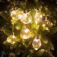 Ornaments And Lights 1pc Pet Lamp Hanging Lights Glass Ball Light Ornaments