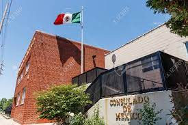 Indianapolis - Circa May 2018: Consulado De Mexico. The Consulate.. Stock  Photo, Picture And Royalty Free Image. Image 102291340.