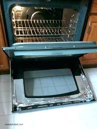 sightly how to clean between glass on oven door exterior styles