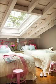 Attic bedroom - very cute