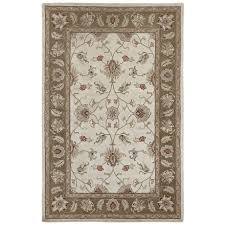 amer mosaic collection fl medallion area rug 5x8 new zealand wool cotton