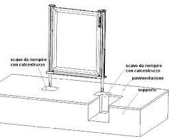 Cancelletti Ad Angolo Per Bambini : Cancelletto sx vetro trasparenterecinzione swimpark con barre