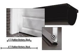 rubber garage door seal weather stripping