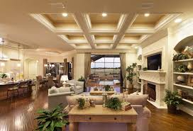 coffered ceiling lighting. how to build coffered ceiling living room traditional with tv above fireplace hand scraped wood lighting r