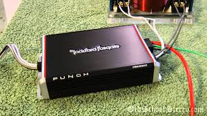 rockford fosgate pbrx watt mini amp for car harley atv rockford fosgate pbr300x2 300 watt mini amp for car harley atv scooter