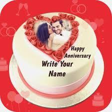 Anniversary Cake With Photos Birthdaycakeformancf