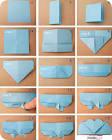 Оригами в своём личном дневнике
