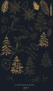 Background Decorations Design Christmas Clipart With Reindeer Winter Background Designs