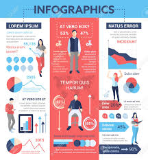 Informational Poster Sample Layout People Infographics Info Poster Brochure Cover Template Layout
