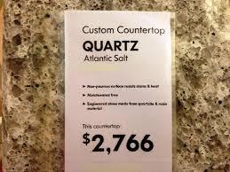 ikea quartz countertops atlantic salt