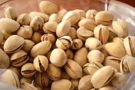 according to moslem legend the pistachio nut was one of the foods brought to earth by adam