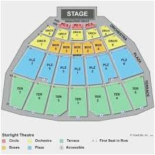 68 Qualified Starlight Amphitheater Seating Chart