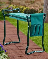 garden kneeler seat with pouch