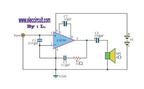 lm386 audio amplifier circuit pcb lm386 mini amplifier