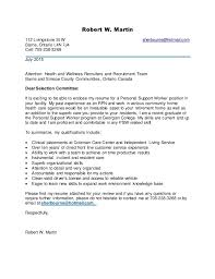 Psw Cover Letter Examples All About Letter Examples