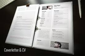 CV, cover letter, portfolio template - Resumes