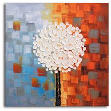 make a wish hand painted oil canvas modern artwork