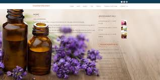 Essential Oil Website Design Wordpress Website For Essential Oils Direct Search Engine