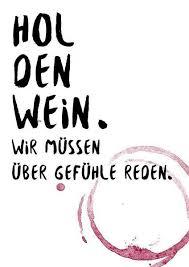 Postkarte A6 Spruch Wein Und Gefühle Von Beiderhase Grafik Und