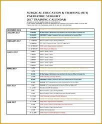 Annual Training Calendar Template Format Creating An Employee Plan ...
