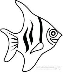 Simple Fish Outline Fish Outline Clipart Truyendich Info