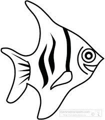 Fish Outline Clipart Truyendich Info